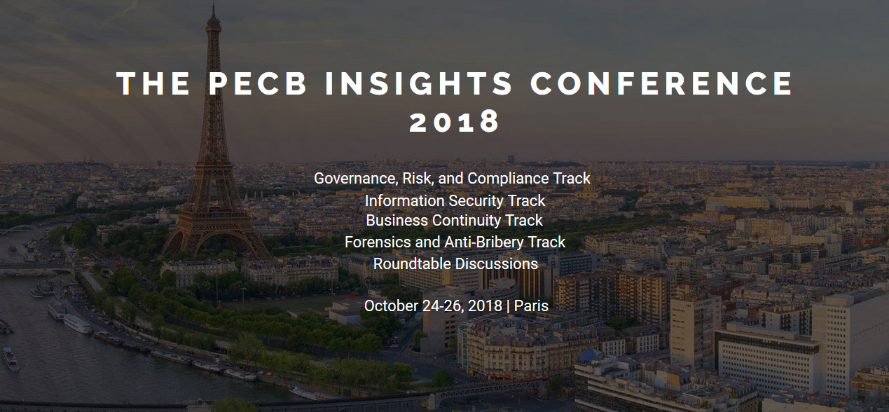 NGS attendend PECB insights conference Paris